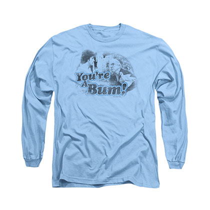 Rocky You're A Bum Blue Long Sleeve T-Shirt
