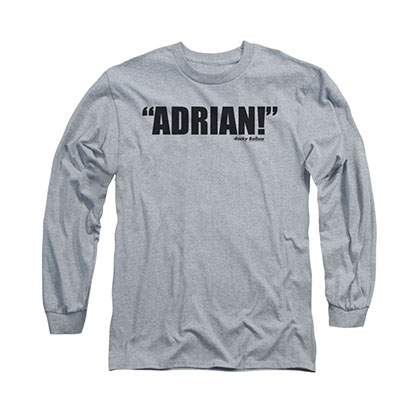Rocky Adrian Gray Long Sleeve T-Shirt