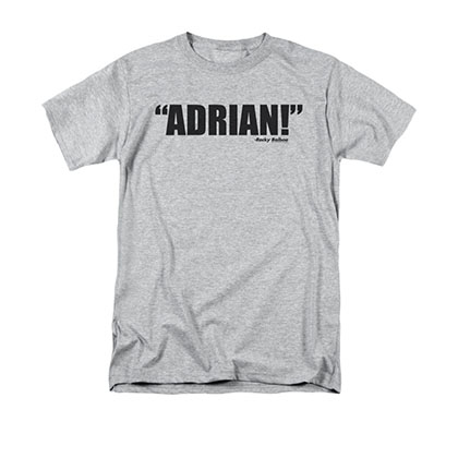 Rocky Adrian! Men's Gray T-Shirt