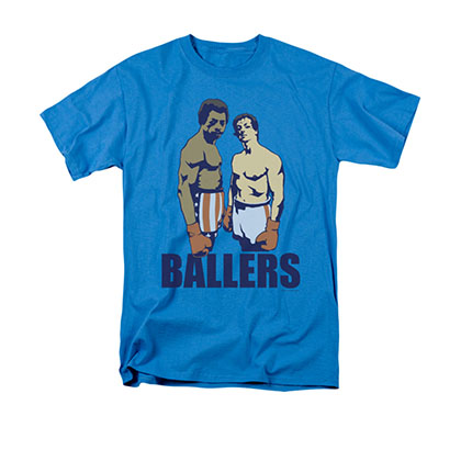 Rocky Men's Blue Ballers Tee Shirt