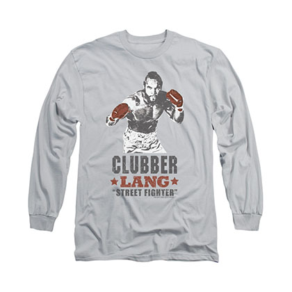 Rocky Clubber Lang Gray Long Sleeve T-Shirt