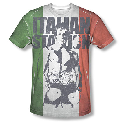 Rocky Italian Stallion Sublimation T-Shirt
