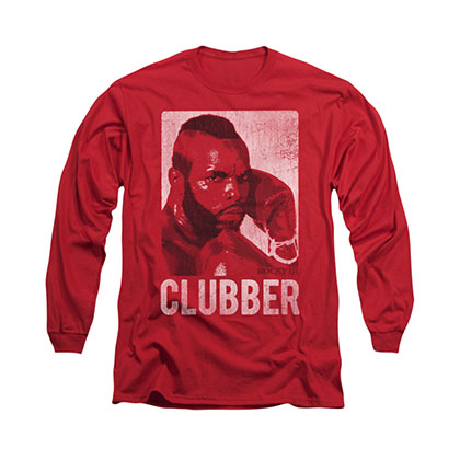 Rocky Clubber Lang Red Long Sleeve T-Shirt