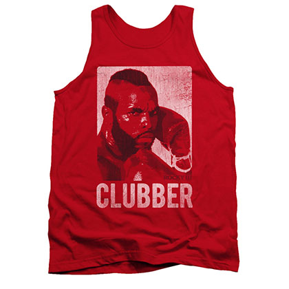 Rocky Men's Red Clubber Lang Distressed Tank Top
