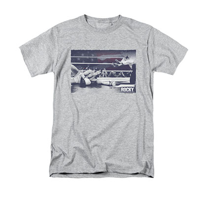 Rocky American Will Gray T-Shirt