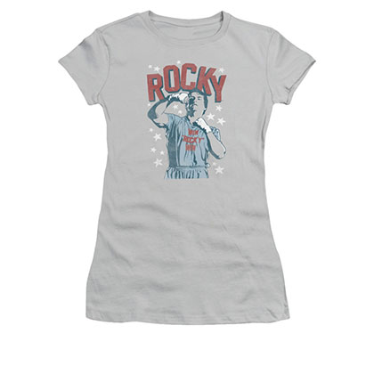 Rocky Juniors Gray In Training Tee Shirt