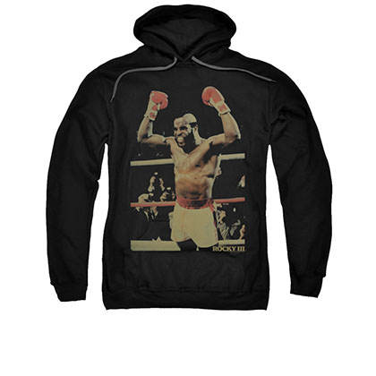 Rocky Clubber Lang Black Pullover Hoodie