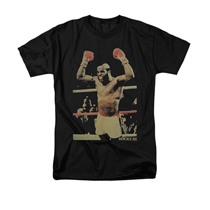Rocky Men's Black Clubber Lang Tee Shirt
