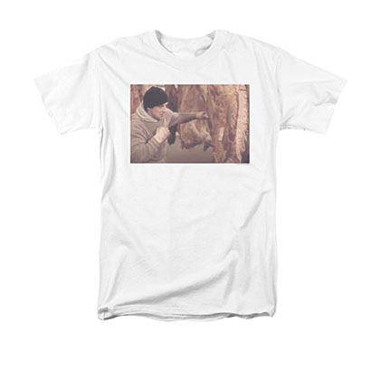 Rocky Men's White Meat Locker Tee Shirt