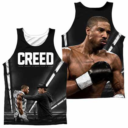 Creed Poster Sublimation Tank Top
