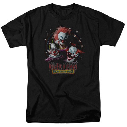 Killer Klowns From Outer Space Movie Poster Tshirt