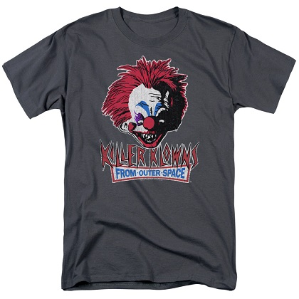 Killer Klowns From Outer Space Rough Clown Tshirt