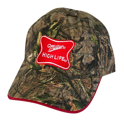 Miller High Life Adjustable Camo Hat