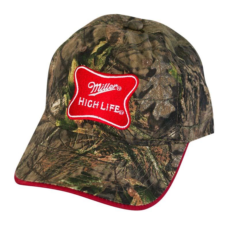 Miller High Life Adjustable Camo Hat