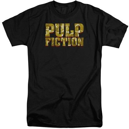 Pulp Fiction Text Logo Tshirt
