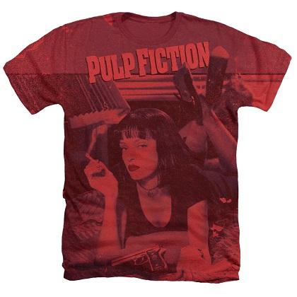 Pulp Fiction Mia Poster Tshirt