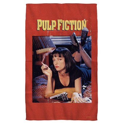Pulp Fiction Movie Poster Beach Towel