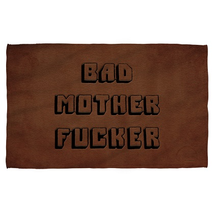 Pulp Fiction Bad Mother F'er Beach Towel