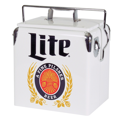 Miller Lite Vintage Ice Chest Cooler