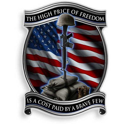 Price of Freedom Decal Sticker