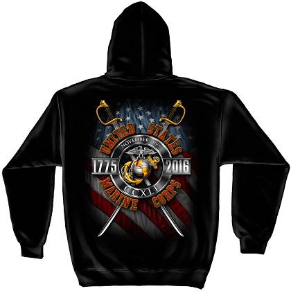 Patriotic USMC 1775 Hoodie