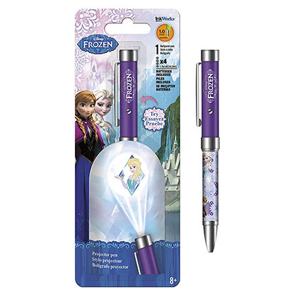 Frozen Disney Purple Elsa Projector Pen