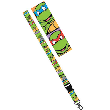 TMNT Green Cartoon Lanyard