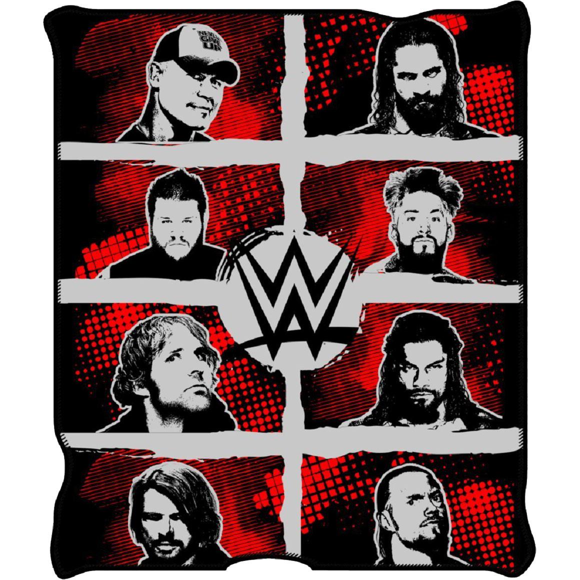 WWE 50x60 Wrestling Blanket