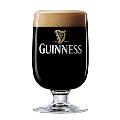Guinness Half Pint Stem Glass