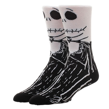 Nightmare Before Christmas Men's Casual Crew Socks