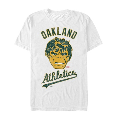 The Incredible Hulk Oakland A's Tshirt