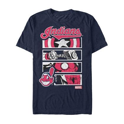 Avengers Cleveland Indians Tshirt