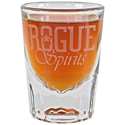 Rogue Ale Spirits Shot Glass