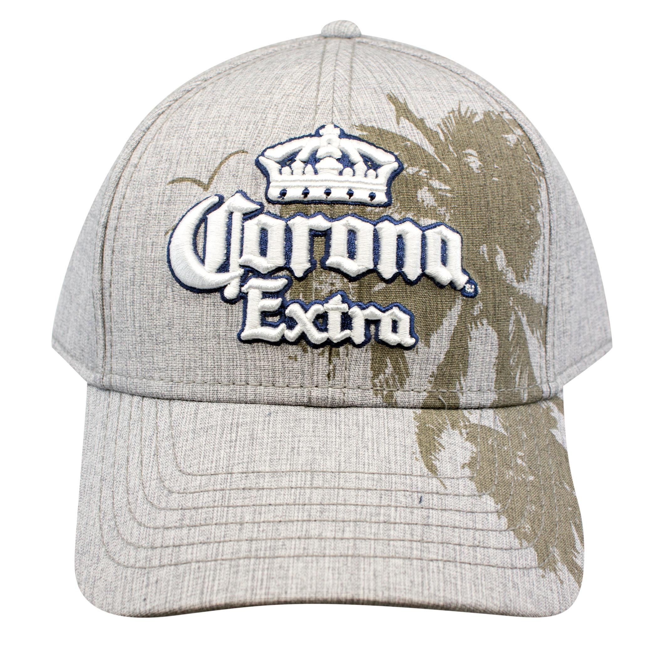 Corona Extra Tan Palm Trees Snapback Hat