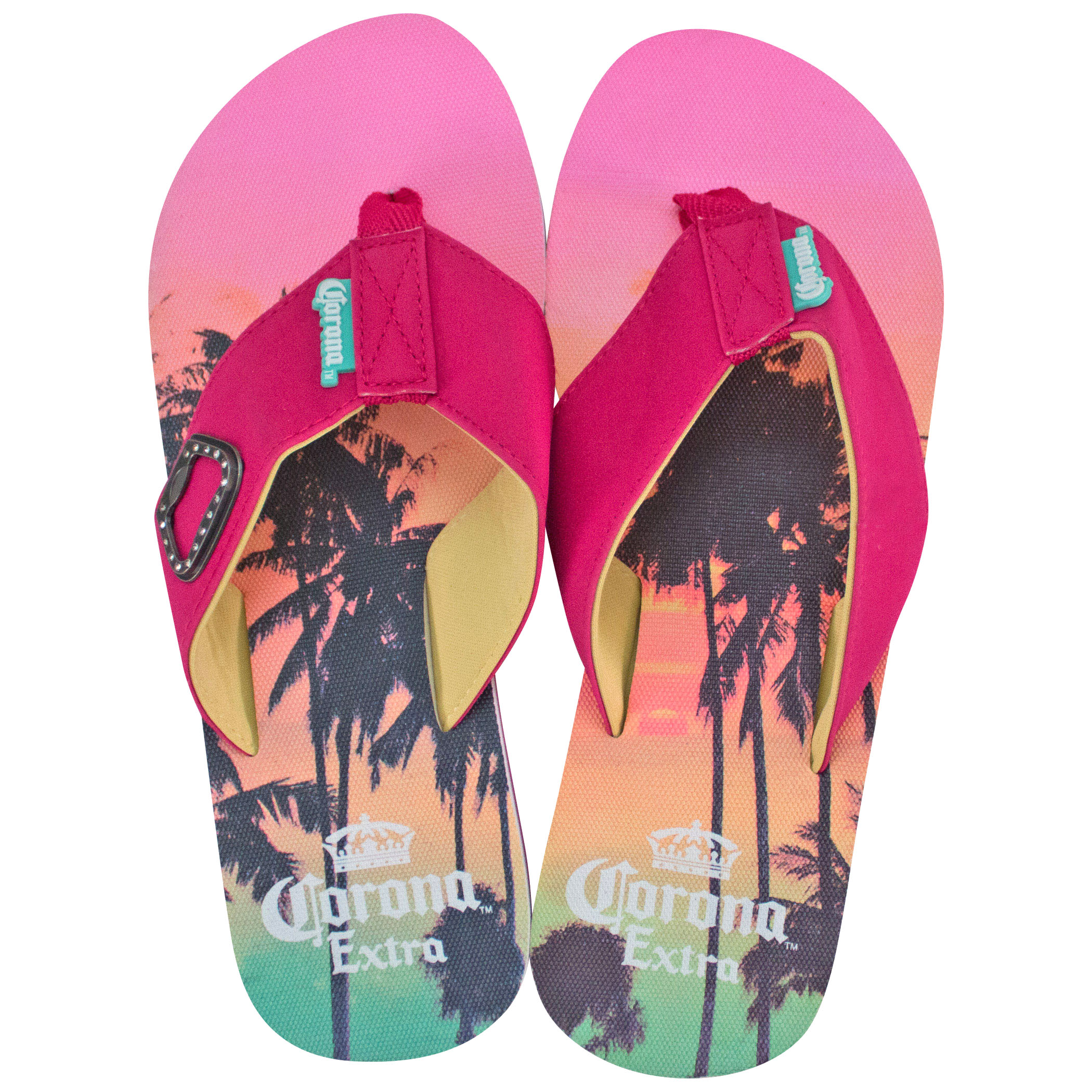 Corona Extra Pink Sunset Women's Sandals