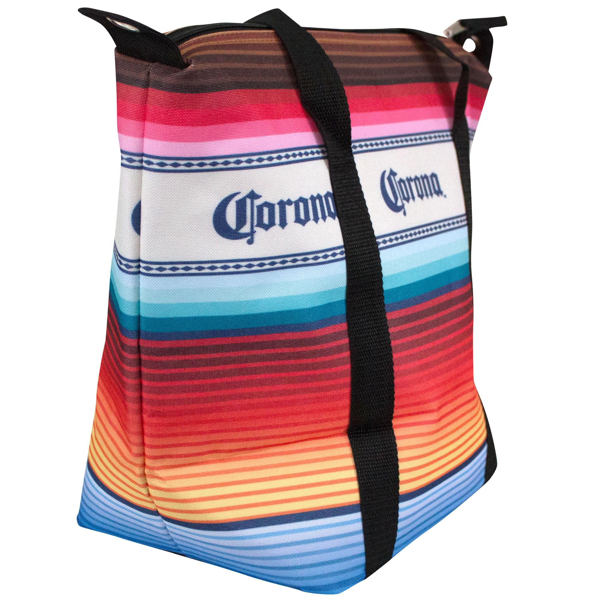 Corona Extra Multicolored Beach Blanket Cooler Bag