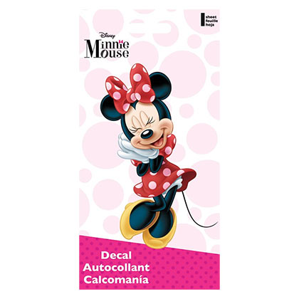 Minnie Mouse Cartoon Decal