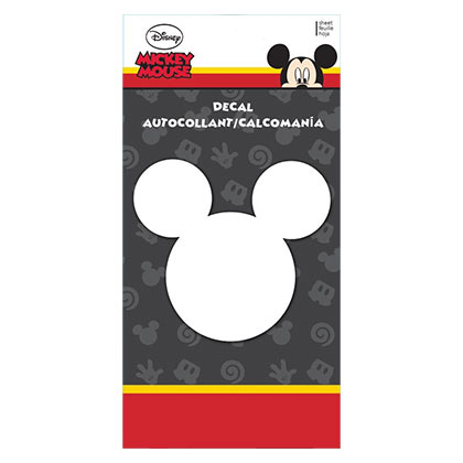 Mickey Mouse 4x8 Ears Decal