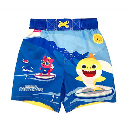 Baby Shark Toddler Swim Trunks