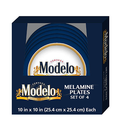 Modelo Four Pack Plate Set