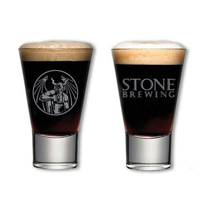 Stone Brewing Logo Taster Glass