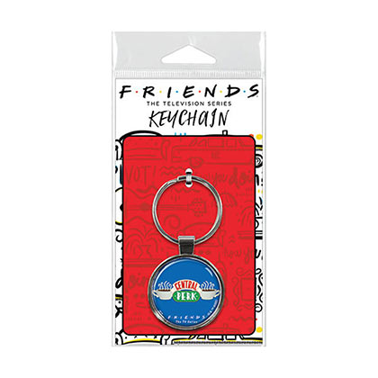 Friends Blue Central Perk Keychain