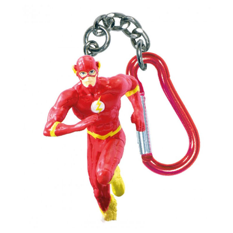 Flash PVC Figurine Keychain