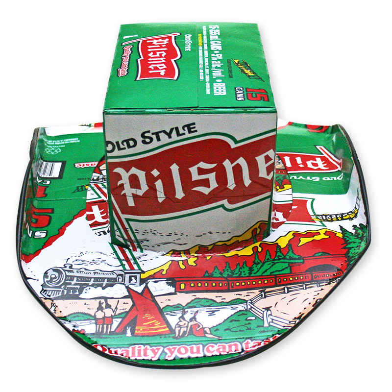35eed76479f Old Style Pilsner Beer Box Cowboy Hat - FREE SHIPPING