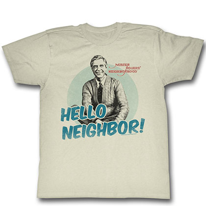 Mister Rogers Hello T-Shirt