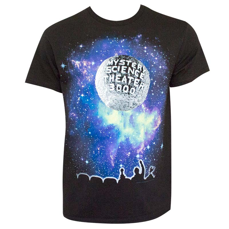 Mystery Science 3000 Classic Logo Black T-Shirt