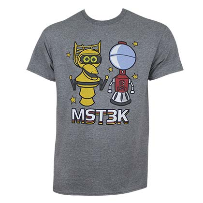 Mystery Science Theater 3000 Chibi Robots Tee Shirt