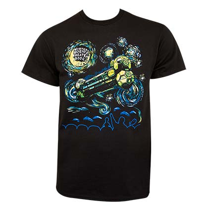 MST3K Men's Black Starry Night T-Shirt