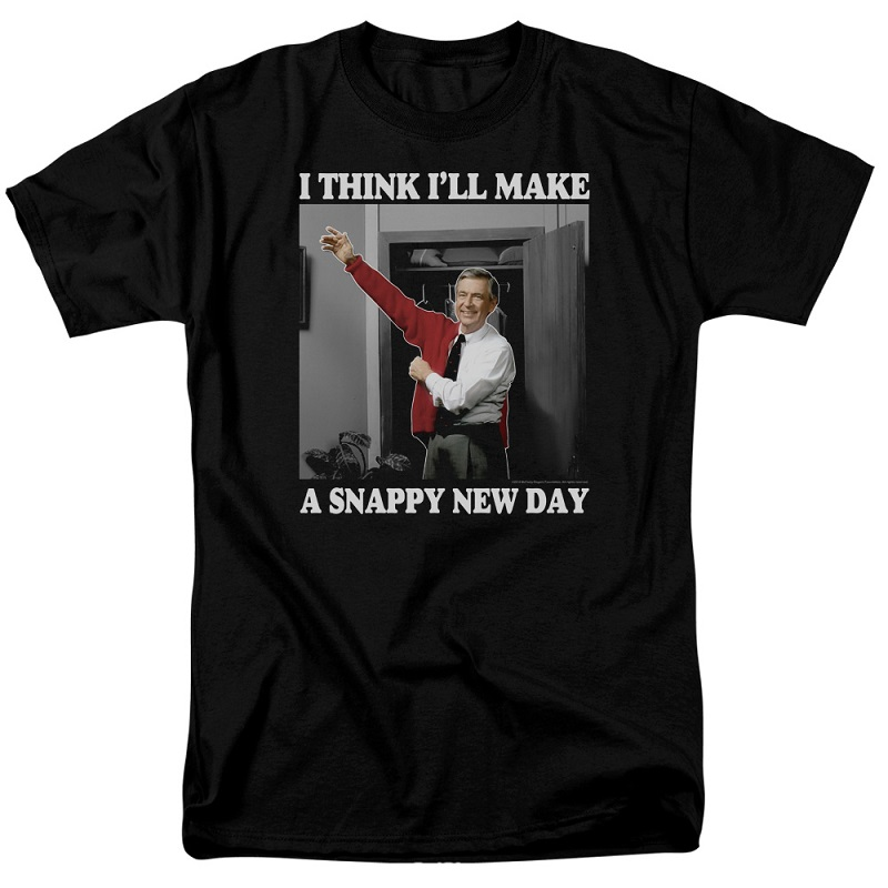 Mister Rogers Neighborhood Snappy New Day Tshirt