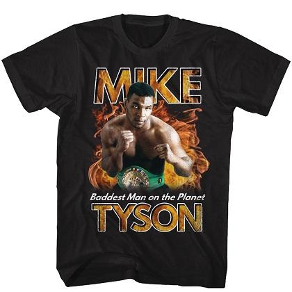 Mike Tyson's Baddest Man on the Planet Tshirt